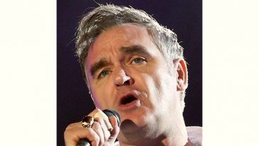 Morrissey Age and Birthday