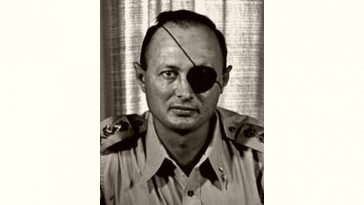 Moshe Dayan Age and Birthday