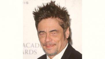 Movieactor Benicio Toro Age and Birthday