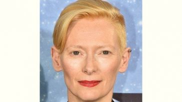 Movieactress Tilda Swinton Age and Birthday