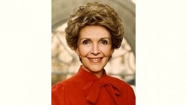 Nancy Reagan Age and Birthday