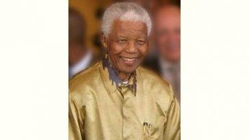 Nelson Mandela Age and Birthday