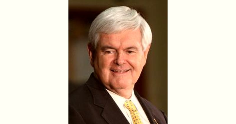 Newt Gingrich Age and Birthday