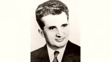 Nicolae Ceausescu Age and Birthday