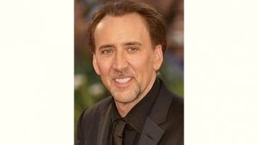 Nicolas Cage Age and Birthday