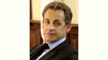 Nicolas Sarkozy Age and Birthday