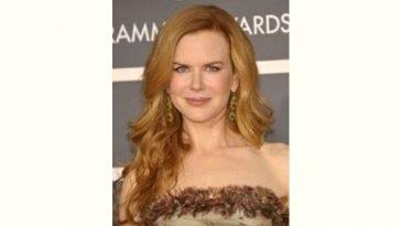 Nicole Kidman Age and Birthday