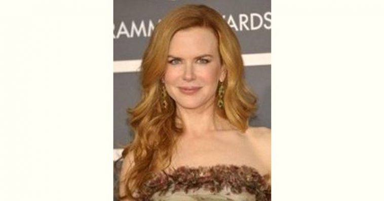 Nicole Kidman Age and Birthday