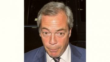 Nigel Farage Age and Birthday