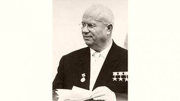 Nikita Khrushchev Age and Birthday
