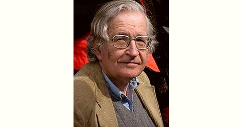 Noam Chomsky Age and Birthday