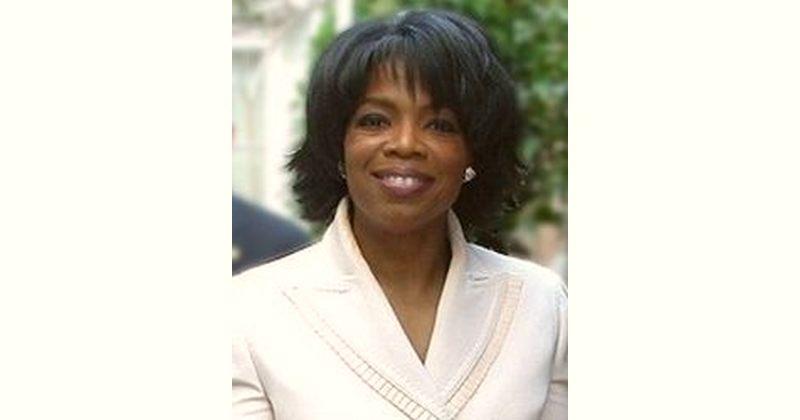 Oprah Winfrey Age and Birthday