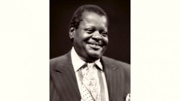 Oscar Peterson Age and Birthday