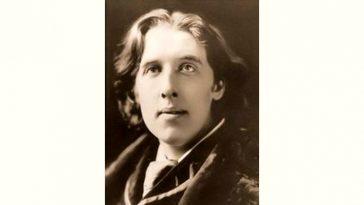 Oscar Wilde Age and Birthday