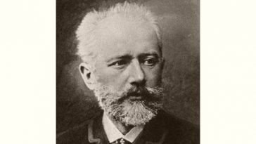 P Tchaikovsky Age and Birthday