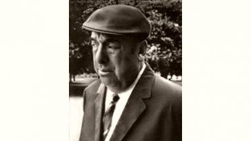 Pablo Neruda Age and Birthday