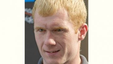 Paul Scholes Age and Birthday