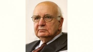 Paul Volcker Age and Birthday