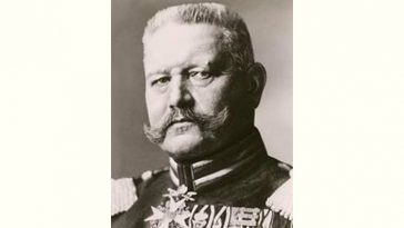 Paul von Hindenburg Age and Birthday