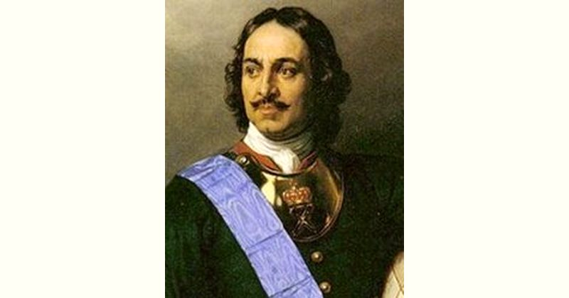 Peter the Great Age and Birthday