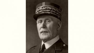Philippe Pétain Age and Birthday