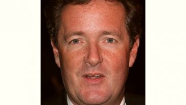 Piers Morgan Age and Birthday