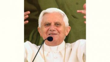 Pope Benedictxvi Age and Birthday