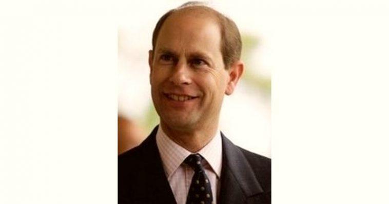 Prince Edward Age and Birthday