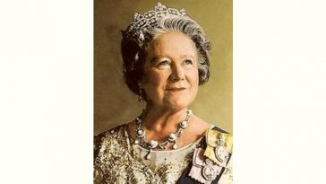 Queen Elizabeth, the Queen Mother Age and Birthday