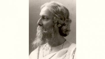 Rabindranath Tagore Age and Birthday