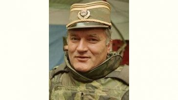 Ratko Mladić Age and Birthday