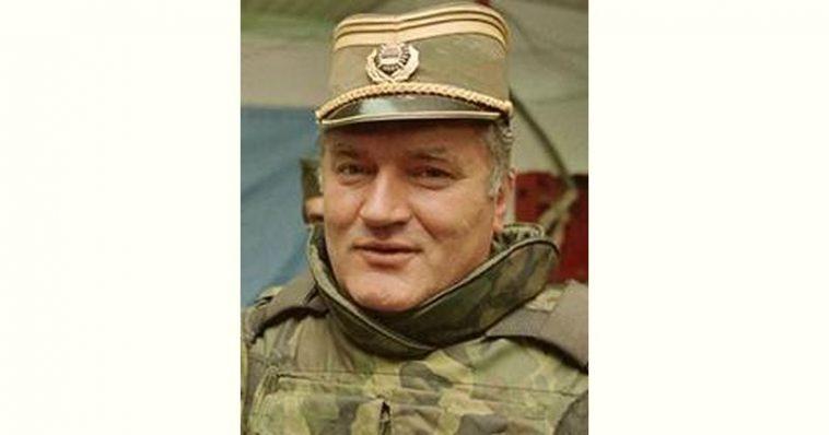 Ratko Mladić Age and Birthday