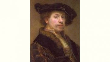 Rembrandt van Rijn Age and Birthday