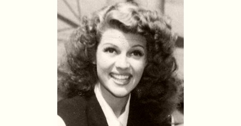 Rita Hayworth Age and Birthday