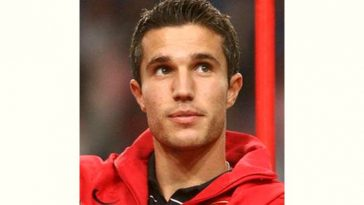 Robin Persie Age and Birthday