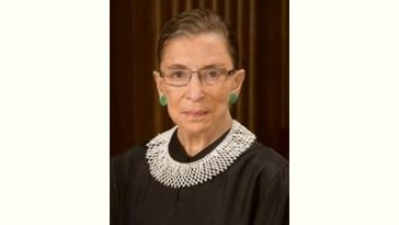 Ruth Bader Ginsburg Age and Birthday