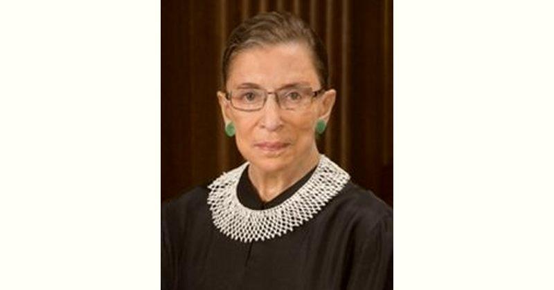 Ruth Bader Ginsburg Age and Birthday