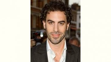 Sacha Baron Cohen Age and Birthday