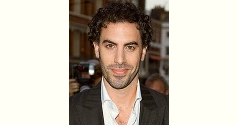 Sacha Baron Cohen Age and Birthday