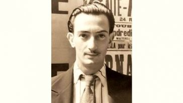 Salvador Dali Age and Birthday