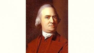 Samuel Adams Age and Birthday