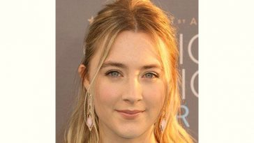 Saoirse Ronan Age and Birthday