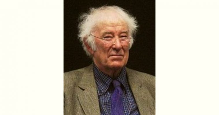 Seamus Heaney Age and Birthday