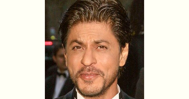 Shahrukh Khan Age and Birthday