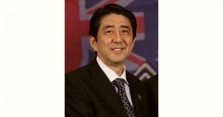 Shinzō Abe Age and Birthday
