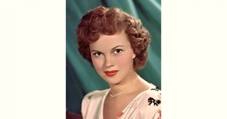 Shirley Temple Age and Birthday