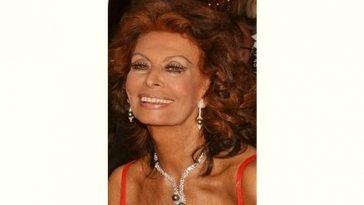 Sophia Loren Age and Birthday