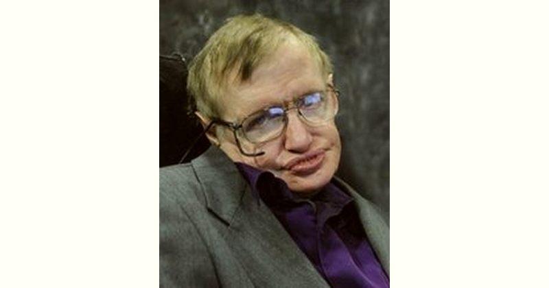 Stephen Hawking Age and Birthday
