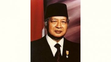 Suharto Age and Birthday