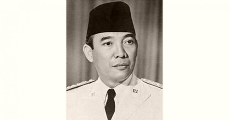 Sukarno Age and Birthday